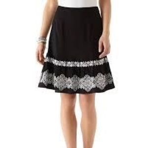 Dresses & Skirts - Cute skirt with embroidery on the bottom